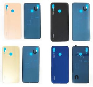 Details about Replacement Huawei P20 Lite Nova 3E Rear Glass Back Battery  Cover With Adhesive