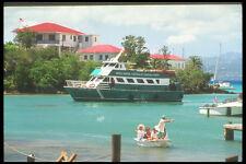 203008 ferry de Santo Tomás en Cruz Bay St John A4 Foto Impresión