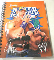 Wwe John Cena School Notebook 100 Sheets With Mini Poster