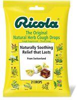 Ricola Original Natural Herb Cough Suppressant 21 Drops on sale