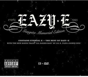 Eazy-E-Gangsta-Memorial-New-CD-Explicit-With-DVD
