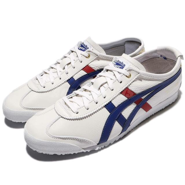 best loved b110d 9f157 Asics Onitsuka Tiger Mexico 66 Limited Premium Pack Ivory Navy Men  D507L-0152