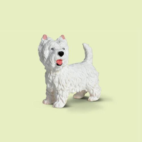 """nuevo con una banderita-New with día!!! 16315 /""""West highand terrier/"""" #schleich"""