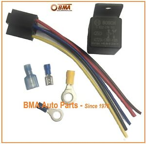 Details about BOSCH WR1 VW SUPER BEETLE 12 VOLT HARD START RELAY KIT on