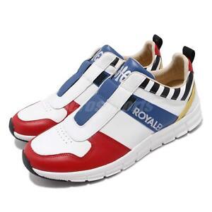 Royal-Elastics-Rider-Retro-1901-White-Black-Red-Blue-Men-Slip-On-Shoe-01191-153