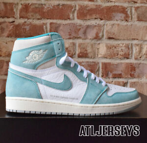 c3fb50f73700 2019 Nike Air Jordan 1 Retro High OG Turbo Green Grey Sail 555088 ...