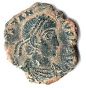 Ancient Roman Coin-théodose Ii. 317-361ad - Spes Reipublicae #k218-afficher Le Titre D'origine