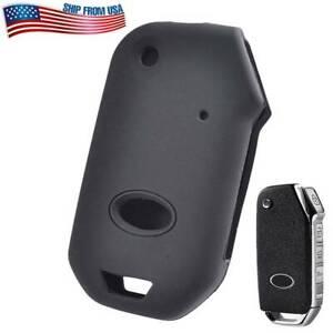 XUKEY Silicone Key Case Cover Remote Fob For Kia Sportage Ceed Sorento Cerato