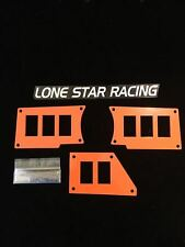 POLARIS RZR DASH SWITCH PLATE PANELS POLARIS ORANGE FITS ALL XP1K XP1000 2014+