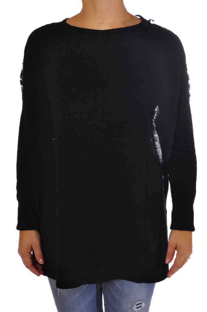 Rosa Memories  -  Sweaters - Female - schwarz - 2732429N174159