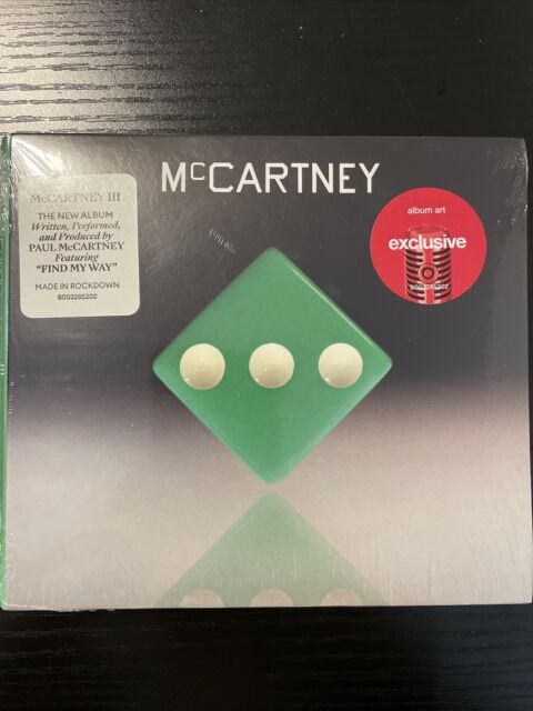 Paul McCartney III Target Exclusive LP Vinyl Green Limited Edition Sealed New