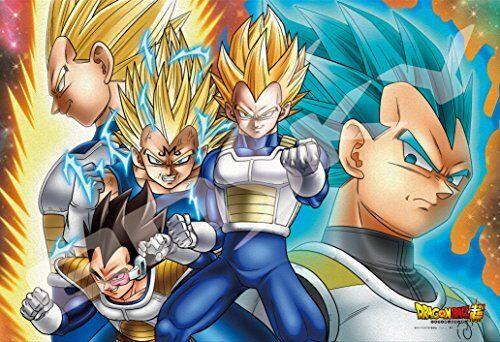 NEW! Dragon Ball Super Vegeta Jigsaw Puzzle 300 Pieces Japanese Anime F/S