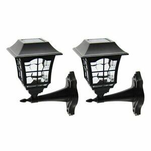 Solares De Lamparas Pared Para Luz Solar Exteriores Inalambricas LED 2PACK Luces rBthdCxsQo