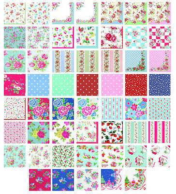 Cath Kidston Paper Table Napkins Serviettes 30 designs u choose inc new 2012