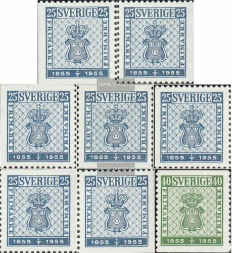 Sweden 402A,Dl,Dr,Elo,Ero,Elu, Eru,403A complete.issue. unmounted mint never
