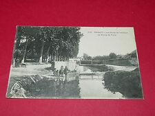 CPA CARTE POSTALE 1910 03 ALLIER GANNAT BORDS DE L'ANDELOT AU CHAMP DE FOIRE