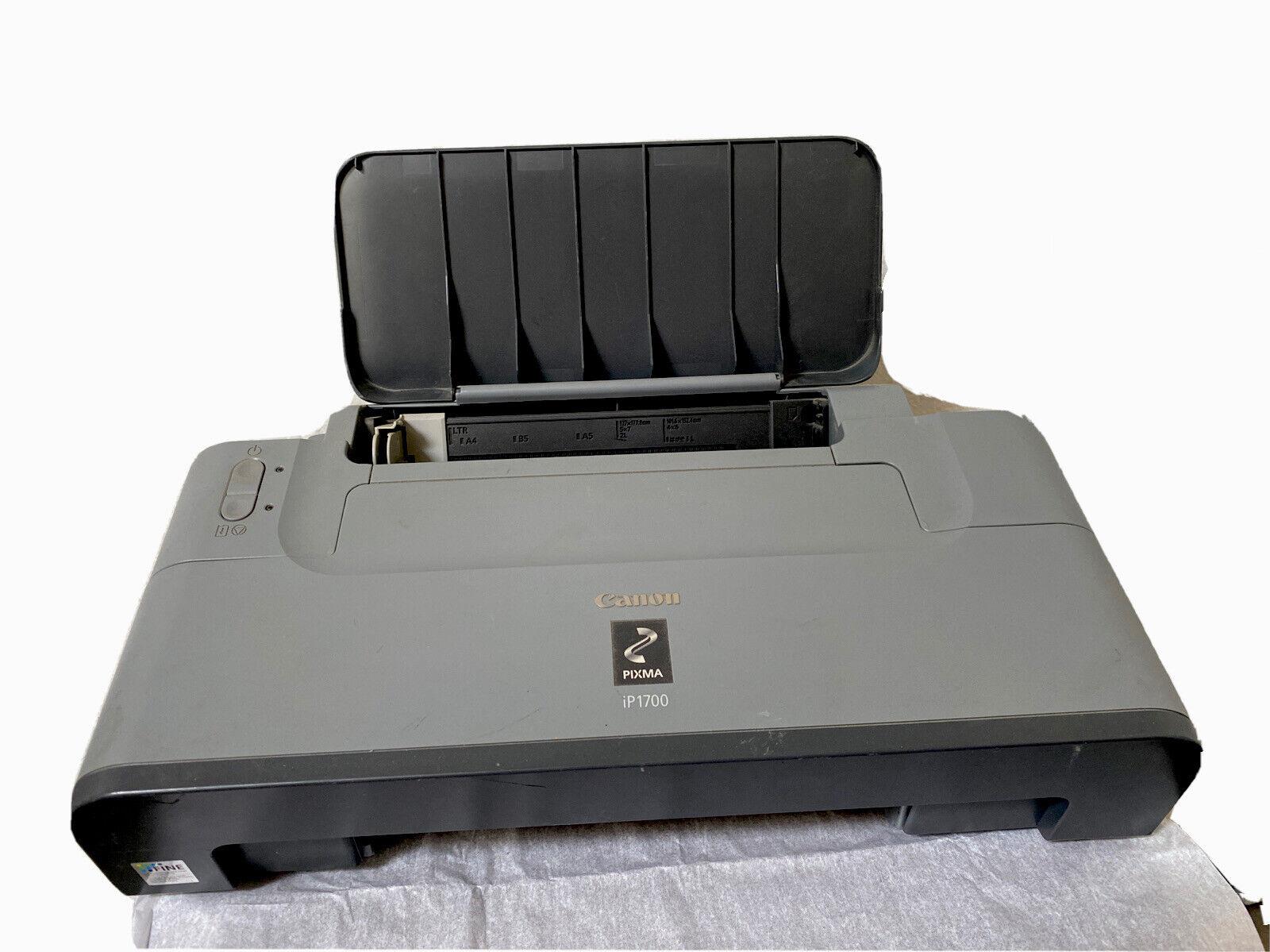 Gray Canon PIXMA iP1700 Photo Inkjet Printer