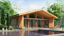 615 Sqft Eco Solid Timber Airtight Panel House Kit Mass Wood Clt Home Prefab