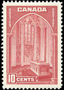 1938-Mint-H-Canada-VF-10c-Scott-241-Pictorial-Issue-Stamp