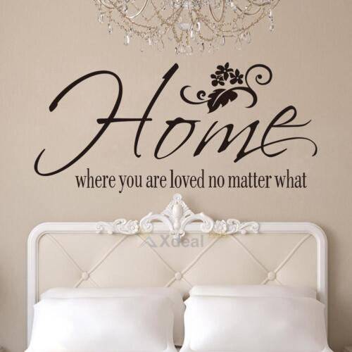 Family Quote Removable Wall Sticker Art Vinyl Decal Mural Home Bedroom Decor Lot