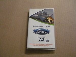 Ford Navigation SD Card Map Chip Version A3 OEM