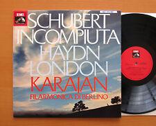Karajan Schubert Unfinished Haydn London Symphony EMI 3C 065-02643 NEAR MINT