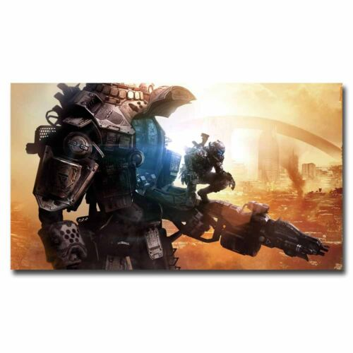 Titanfall 2 24x12inch Video Game Silk Poster Wall Decoration Room Door Decals
