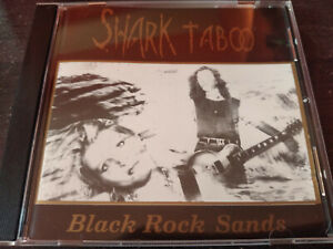SHARK TABOO - Black Rock Sands CD Indie Rock / Goth Rock