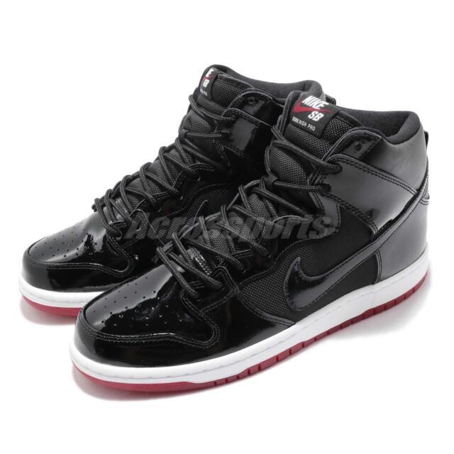 984228fd54af67 Nike SB Zoom Dunk High TR QS Rivals Pack BRED Men Skateboarding Shoes  AJ7730-001