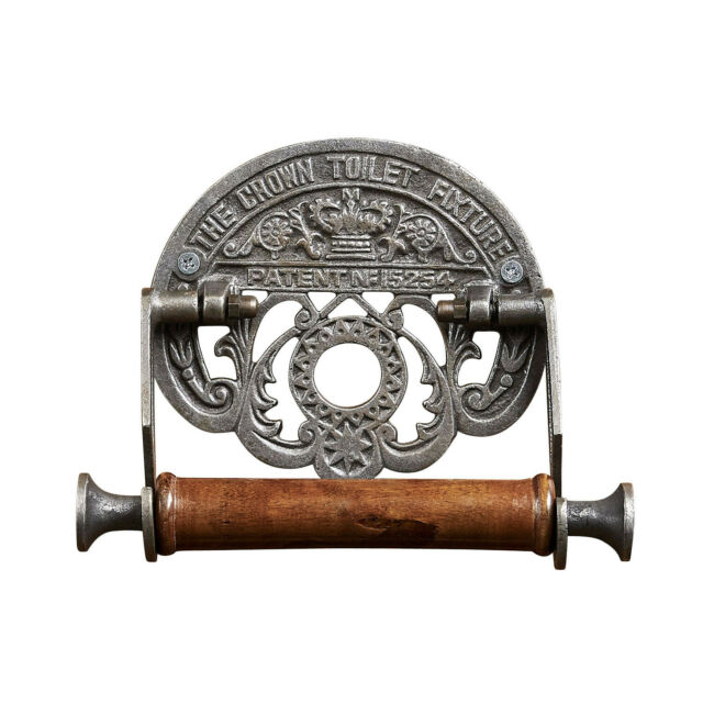 Cast Iron Conch Shell Wall Mount Toilet Paper Holder Beige For Sale Online Ebay