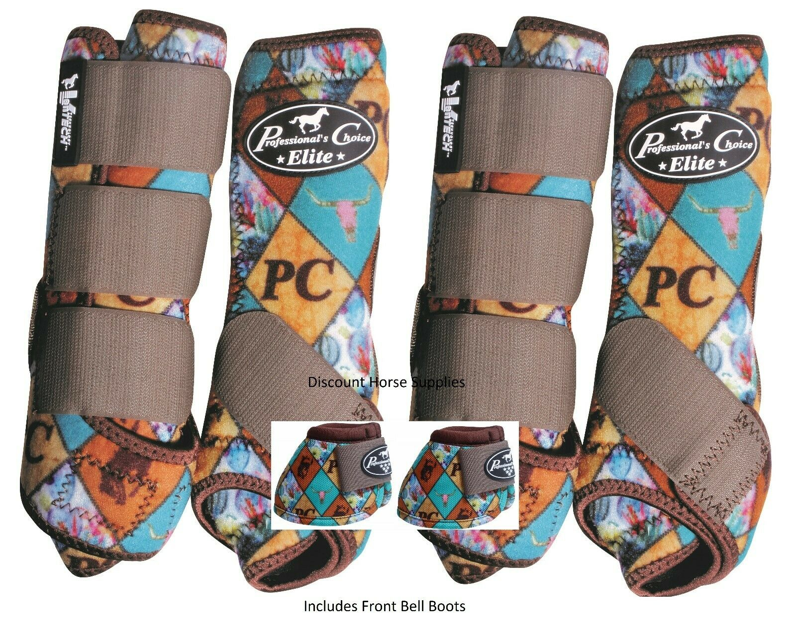 Professional's Choice VenTech ELITE Value Pack with Bell Stiefel PC Diamond M Pro