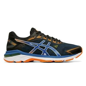 ASICS-GT-2000-7-Scarpe-Running-Uomo-Support-BLACK-LAKE-DRIVE-1011A713-001