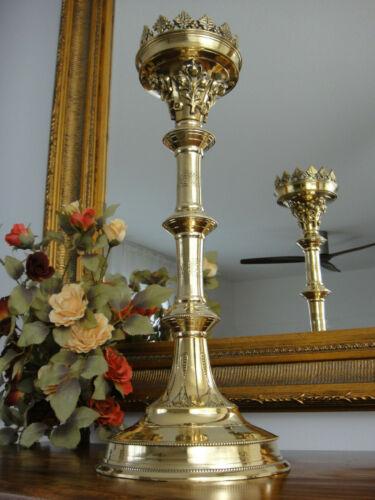 Kirchenleuchter Kerzenleuchter Gold Antik Barock Kerzenhalter Kerzenständer XL