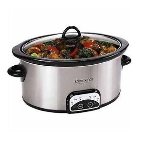 Crock Pot 6 Qt Slow Cooker