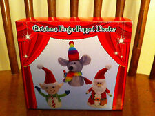 North Pole Trading Company Christmas Finger Puppet Theater JC Penney Exclusive