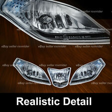 simulated headlight decals sticker for a aprilia rsv4 2009 2010 2011 2012 2013