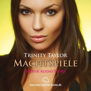 MachtSpiele-Erotisches-Hoerbuch-1-CD-von-Trinity-Taylor-blue-panther-books