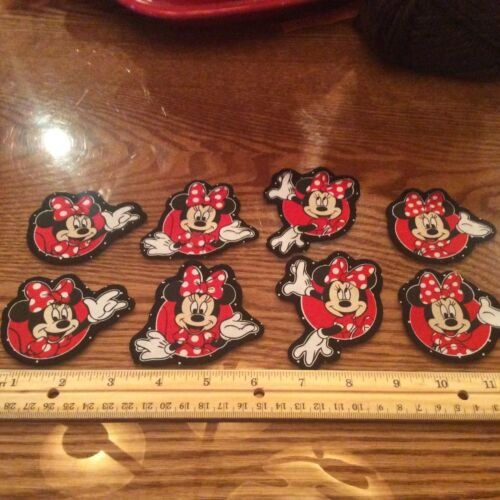 style # 6 Disney Minnie Mouse Fabric Iron On Appliques