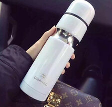 Chanel White VIP Thermo Coffee Drink Cup NEW