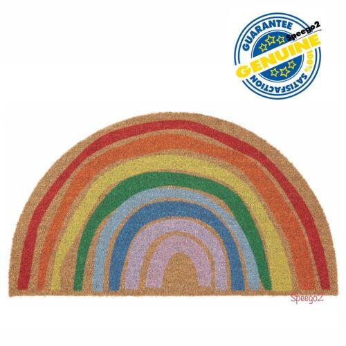 """New IKEA PILLEMARK Door Floor Mat Indoor Rug 35x20"""" Rainbow 604.662.46"""