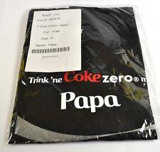 Coca-Cola Coke Papa Camiseta negra tamaño XL Nombre de pila con