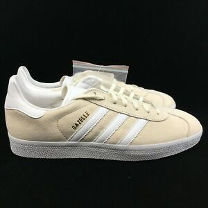 Details about New adidas Originals Mens Gazelle Athletic Shoe Off White BB5475 superstar s1