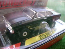 New Autoworld Black 66 Box Nova SS HO Thunderjet Slot Car Run on Aurora Tomy AFX