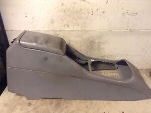 Mercedes-Benz-ML-Class-W163-Center-armrest-LIGHT-GREY-LEATHER-1636830475