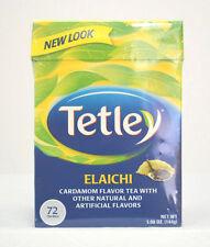 Tetley Elacichi Cardamom Flavor Tea with other flavors Tea Chai 72 Tea Bags