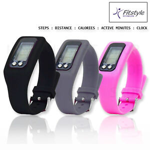 Fitness Smart Watch Band Sport Activity Tracker ADULT Kid Step counter UK