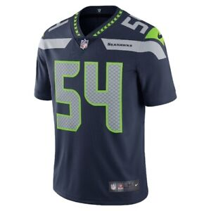 NIKE Men Seattle Seahawks Bobby Wagner #54 Vapor Jersey 32NM SSLH - Sz XL New
