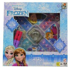 Disney-Frozen-Die-Eiskoenigin-Brettspiel-Gesellschaftsspiel-fuer-2-4-Spieler-NEU