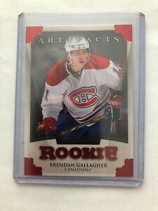 2013-14-Artifacts-Ruby-155-Brendan-Gallagher-RC-299-MONTREAL-CANADIENS