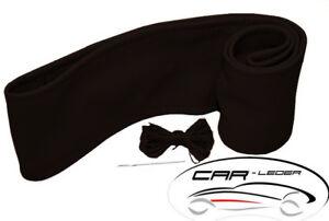 Lenkradschoner zum Schnüren Leder Schwarz-Beige passend für Mercedes Actros MP4